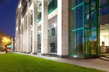 Project Smile Dental Clinic - Green Office Building Front
