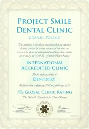 GCR International Accredited Clinic